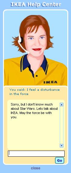 No Star Wars, More IKEA